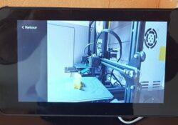 Supervision vidéo des impressions 3D
